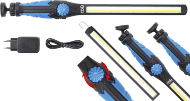 COB•LED / UV Work Handheld Lamp  ultra flat Type