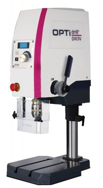 Table drilling machine with variable speed