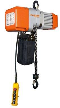 Electric chain hoist 1 ton, 661x276x460mm
