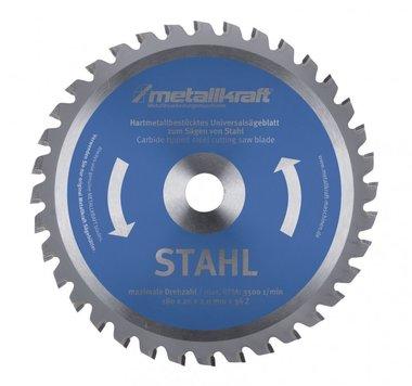 TCT circular saw blades for steel, teeth-80