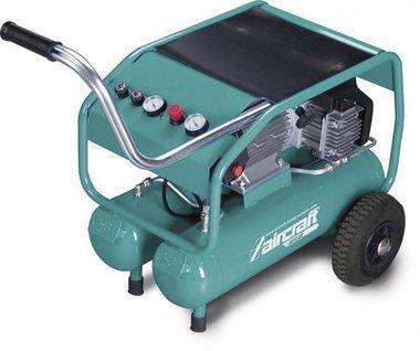Mobile oil-free construction compressor 10 bar, 2 x 10 liters