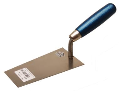 Plasterer's trowel, Bern-type stainless 140 mm