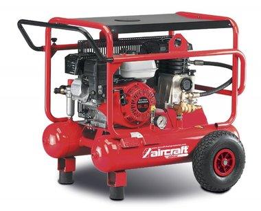 Mobile gasoline construction compressor 10 bar - 2x10 liters