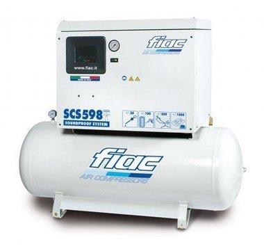 Silent compressor 270 liters