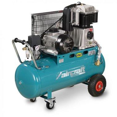 Belt driven oil compressor 10 bar - 100 liters 3x400V