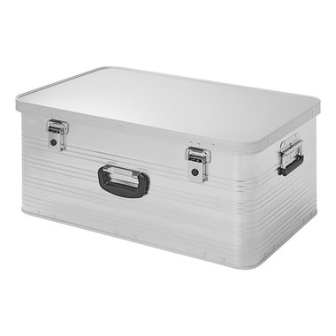 Aluminium transport case 84L