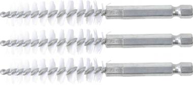 Nylon Brush | 13 mm | 6.3 mm (1/4) Drive | 3 pcs