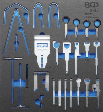 Radio Removal Tool Set | 52 pcs.