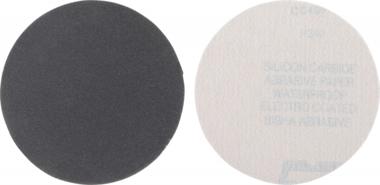 Sanding Pads Set | Grain Size 240, fine | Silicone Carbide | 10 pcs.