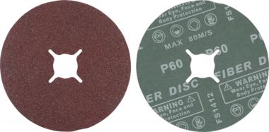Sanding Pads Set | Grain Size 60 | Aluminium Oxide | 10 pcs.