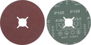 Sanding Pads Set | Grain Size 100 | Aluminium Oxide | 10 pcs.