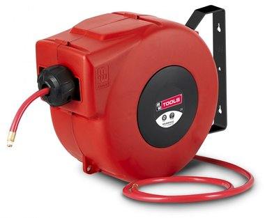 Automatic air hose reel pvc 14 m - 10 mm