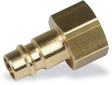 Rectus plug nipple euro female compressed air 3/8