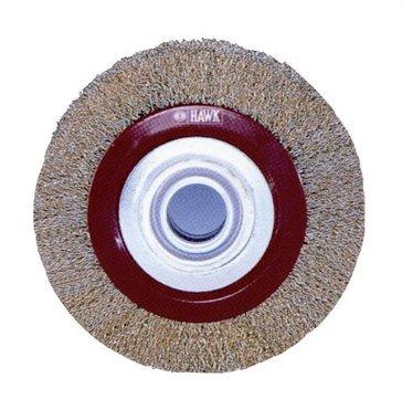 Round brush grinder