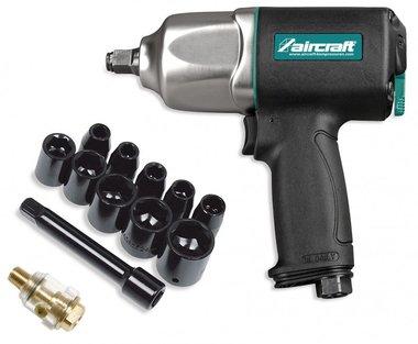 Set of impact wrench pro 1/2 + 10 caps 800nm