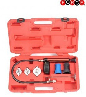 Universal radiator pressure tester kit for radiators