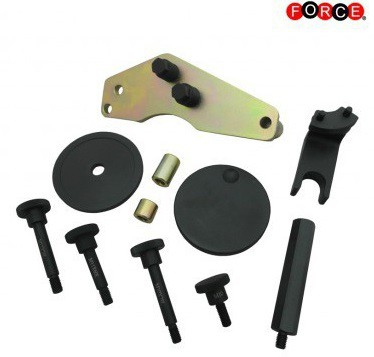 Vacuum pump sealing cover remover and installer set for BMW