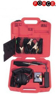 Combination electronic stethoscope kit