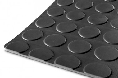 Rubber on a roll 10mx1200mmx3mm nop black