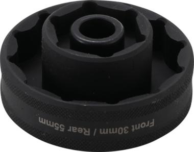 Impact Socket, Hexagon / 12-point for Ducati Wheel Fixings 12,5 mm (1/2) Drive 30 / 55 mm