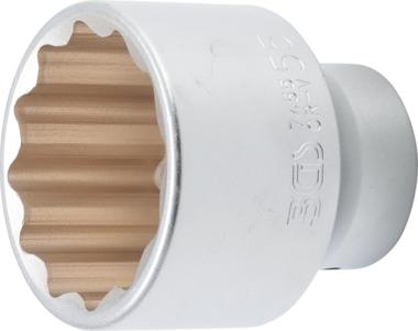 Socket, 12-point 20 mm (3/4) Drive 55 mm