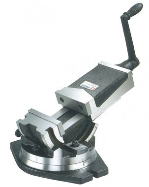 Mechanical 2-axis machine clamp