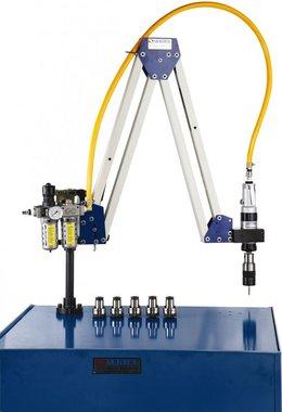 Pneumatic tapping arm M10 - M20 working range 500 - 1600mm