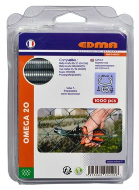 Edma ring curves Omega 20 mm Crapo 1000 pieces