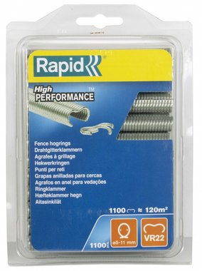 Rapid staples VR22 gallv. blister 1100 pieces