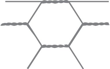 Hexagonal mesh Avigal 25x0.8 75 cm x 50 m