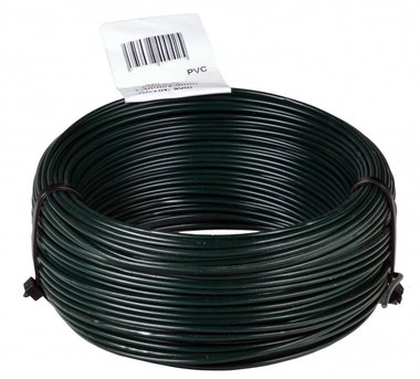 Twine PVC green 1.4/2.0 mm 50 mtr-ring