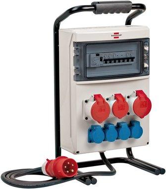 BSV 4 IP44 2m H07RN-F5G4.0 2x32A mobile power distributor + 1x16A