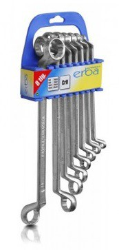 Ring wrench 6-22mm set 8-piece