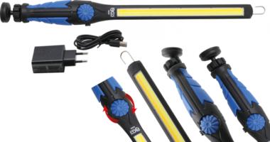 COB-LED Work Handheld Lamp LED Cold White & Yellow ultra flat Type