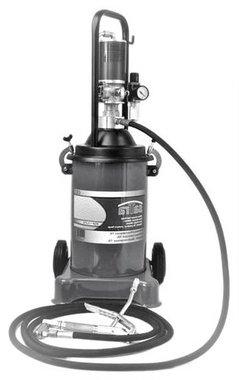 Grease pump mobile unit